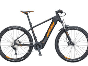 KTM MACINA TEAM 293 Black Matt Orange